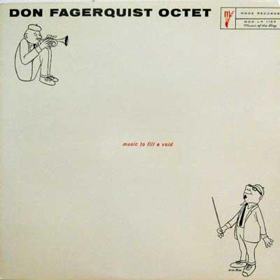 DON FAGERQUIST OCTET - Eight By Eight - LP