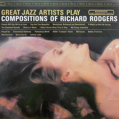 V.A.: BILL EVANS... - Great Jazz Artists Play Composition Of Richard Rodgers - LP