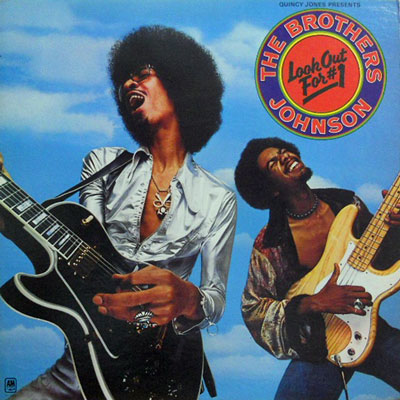BROTHERS JOHNSON - Look Out For #1 - LP