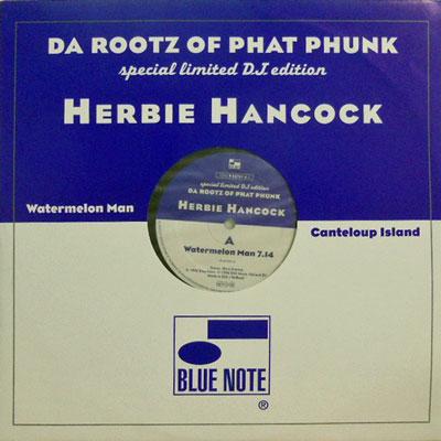 HERBIE HANCOCK - Watermelon Man / Canteloup Island - 12 inch x 1