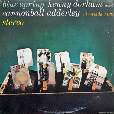 KENNY DORHAM SEPTET - Blue Spring - LP