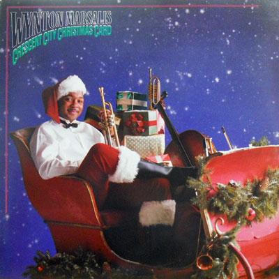 WYNTON MARSALIS - Crescent City Christmas Card - LP