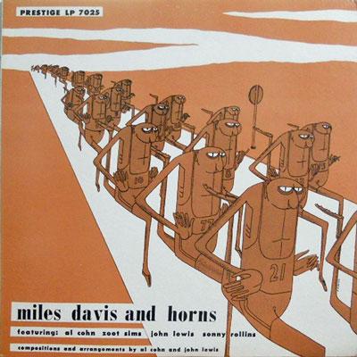 MILES DAVIS - And Horns - LP