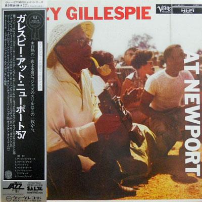 DIZZY GILLESPIE - At New Port - LP