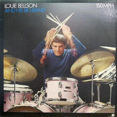LOUIE BELLSON & HIS BIG BAND - 150 Mph - LP
