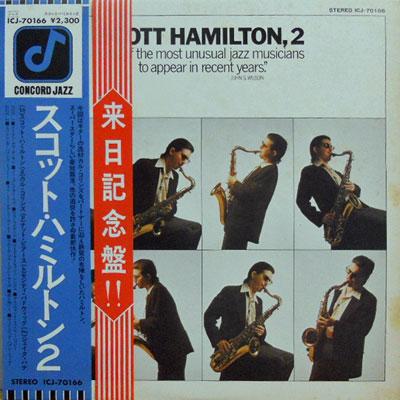 SCOTT HAMILTON - 2 - LP