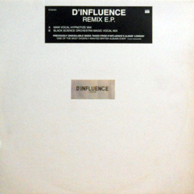 D'INFLUENCE - Remix E.P. - Maxi x 1