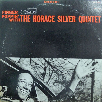 HORACE SILVER QUINTET - Finger Poppin' With - LP