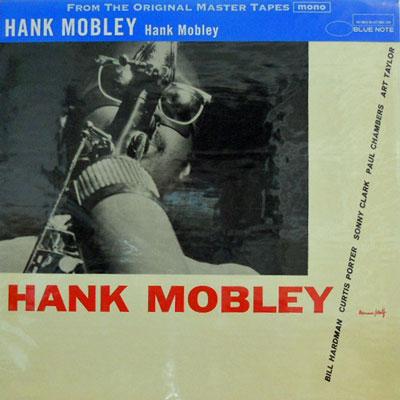 HANK MOBLEY - Hank Mobley - LP