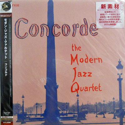 MJQ: MODERN JAZZ QUARTET - Concorde - LP