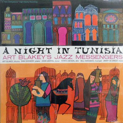 ART BLAKEY'S JAZZ MESSENGERS - A Night In Tunisia - LP