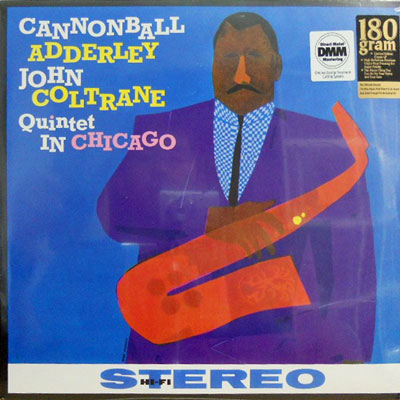 CANNONBALL ADDERLEY QUINTET JOHN COLTRANE - In Chicago - LP