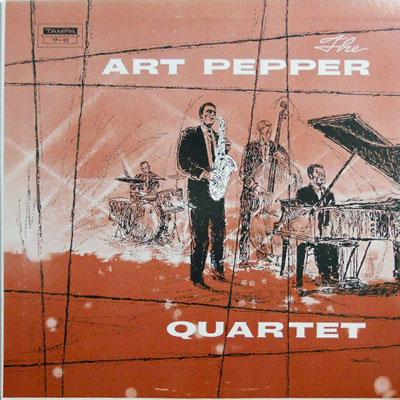 ART PEPPER QUARTET - Art Pepper Quartet - LP