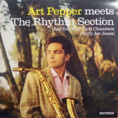 ART PEPPER - Meets The Rhythm Section - LP