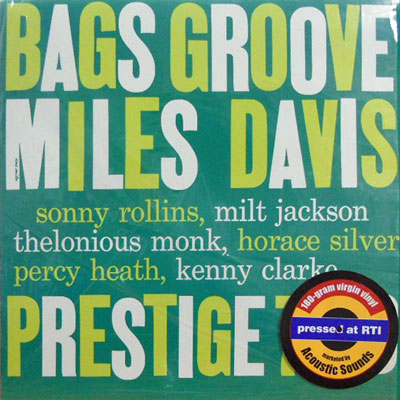 MILES DAVIS AND THE MODERN JAZZ GIANTS - Bags' Groove - LP