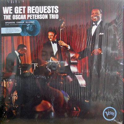 OSCAR PETERSON - We Get Requests - LP