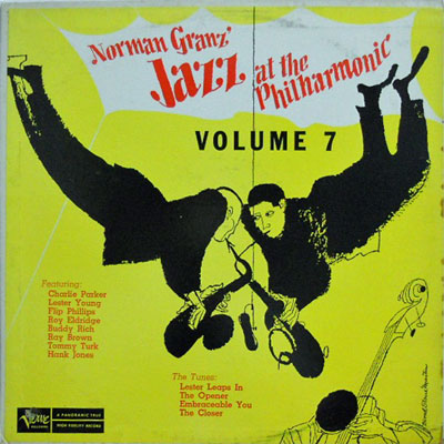 V.A. - Norman Granz' Jazz At The Philharmonic Volume 7 - LP
