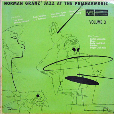 V.A. - Norman Granz' Jazz At The Philharmonic Volume 3 - LP