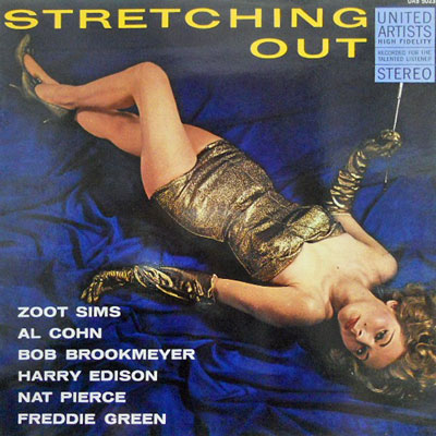 ZOOT SIMS BOB BROOKMEYER OCTET - Stretching Out - LP