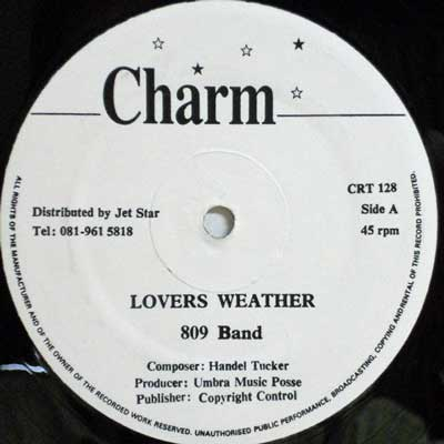 809 BAND - Lovers Weather / Maybe - 12 inch x 1