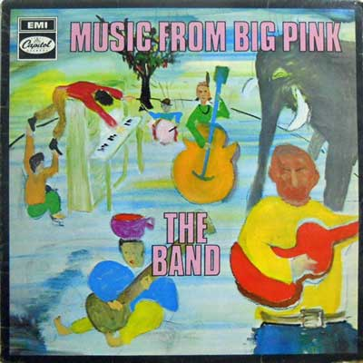 BAND - Music From Big Pink - 33T