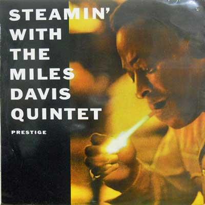 MILES DAVIS QUINTET - Steamin' With - LP