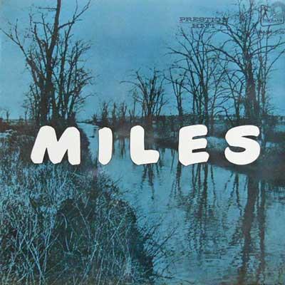 MILES DAVIS QUINTET: NEW - Miles - LP