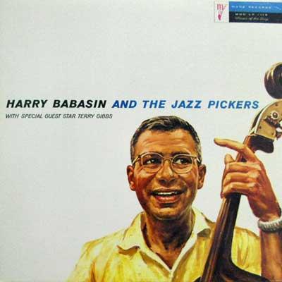 HARRY BABASIN TERRY GIBBS - The Jazz Pickers - LP