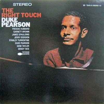 DUKE PEARSON - Right Touch - LP