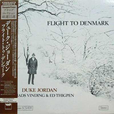DUKE JORDAN - Flight To Denmark - LP