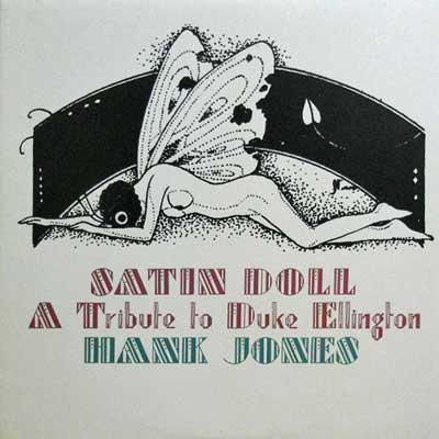 HANK JONES - Satin Doll: Dedicated To Duke Ellington - LP