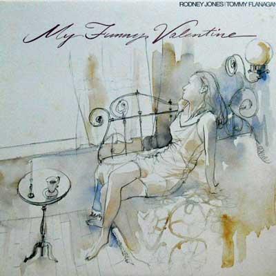 RODNEY JONES TOMMY FLANAGAN - My Funny Valentine - LP