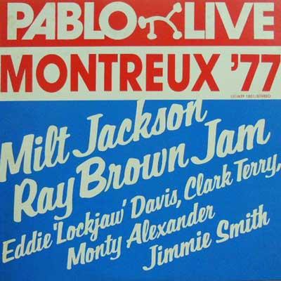 MILT JACKSON RAY BROWN - Montreux '77 - LP