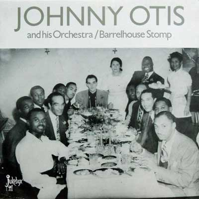 JOHNNY OTIS - Barrelhouse Stomp - LP