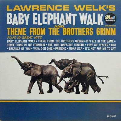 LAWRENCE WELK - Baby Elephant Walk - LP