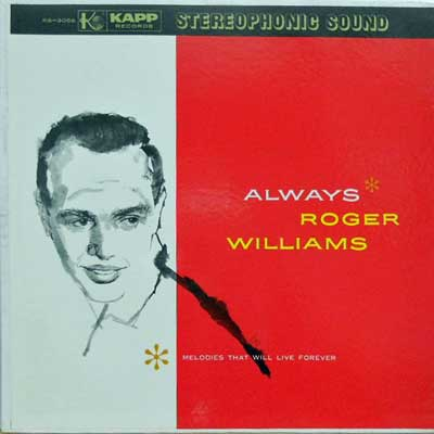 ROGER WILLIAMS - Always - 33T