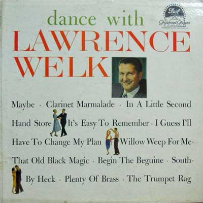 LAWRENCE WELK - Dance With Lawrence Welk - LP