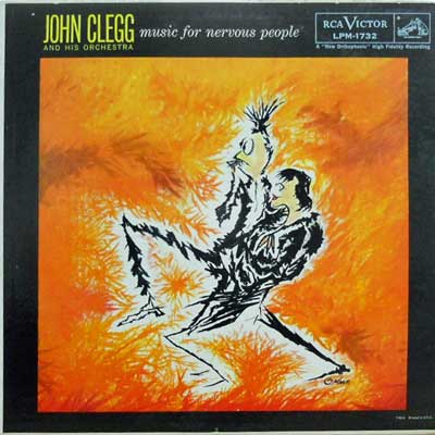 JOHN CLEGG - Music For Nervous People - LP