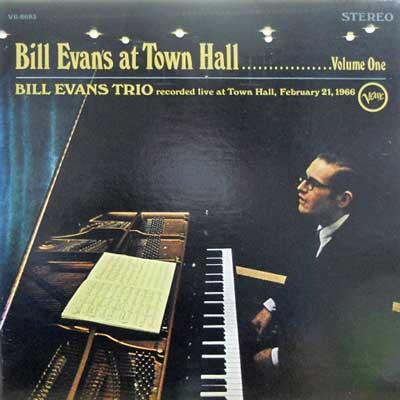 BILL EVANS TRIO - At Town Hall Volume One: 1 - LP